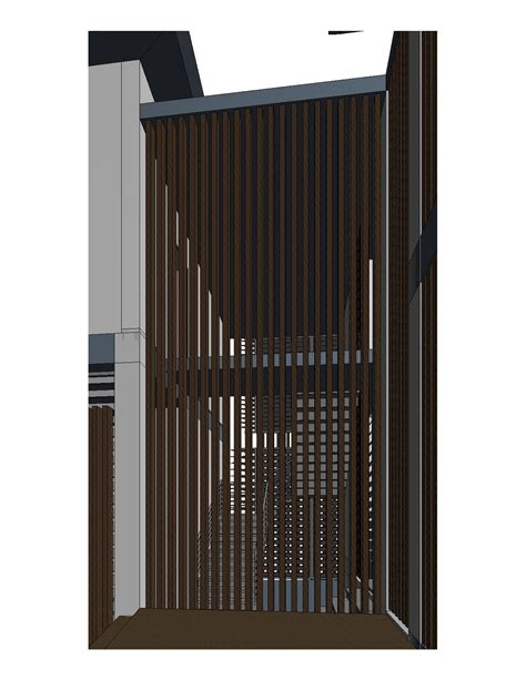 revit curtains revitcity com make timbet louver by curtain wall