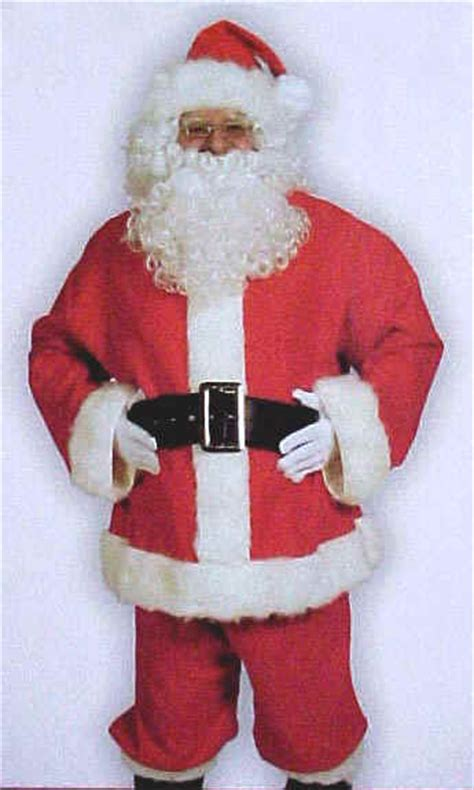 santa suits on sale santa bells gloves toy bag closeout