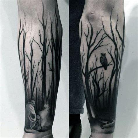 dark forest tattoo designs 21 cool forearm design weneedfun