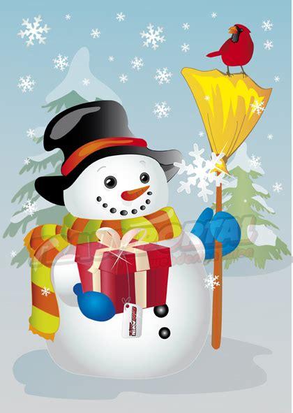 schneemann winter snowman grafik illustration