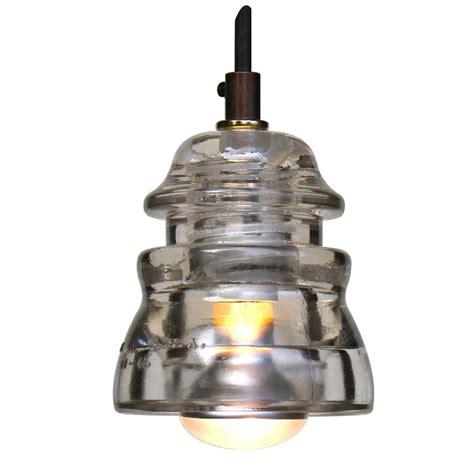 Insulator Pendant Light Insulator Light Pendant Blue Green 120v 40w Bulb Railroadware