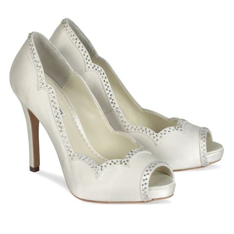 benjamin betty wedding shoes bridal