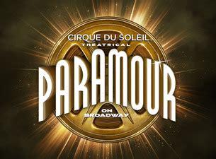 Nyu Box Office by Nyu Box Office Paramour Cirque Du Soleil