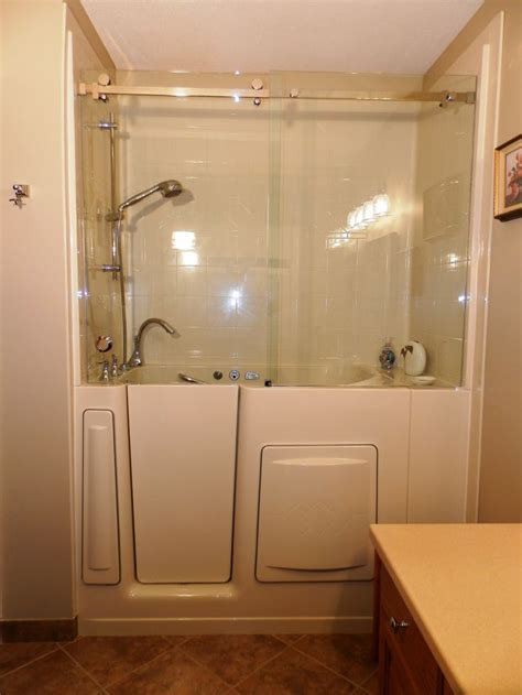 Glass Walk In Shower Doors 17 Best Images About Walk In Tub Gallery Of Installed Tubs On Walk In Tubs Shower
