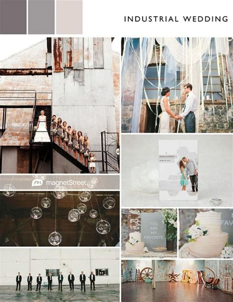 color monday neutral wedding color palette industrial