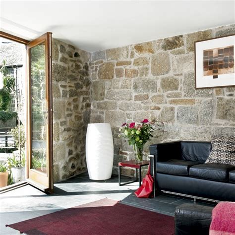 stone wall tiles for living room light living room with exposed walls large living rooms sofas housetohome co uk