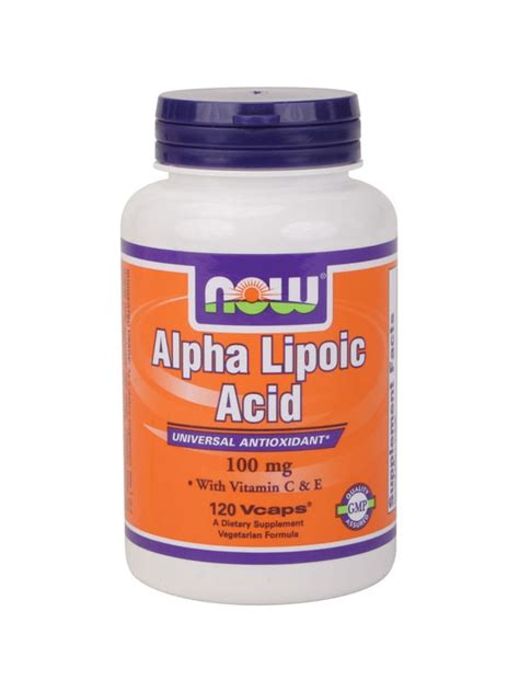 Alpha Lipoic Acid Brain Detox by Ala Alpha Lipoic Acid Neutralize Free Radicals For