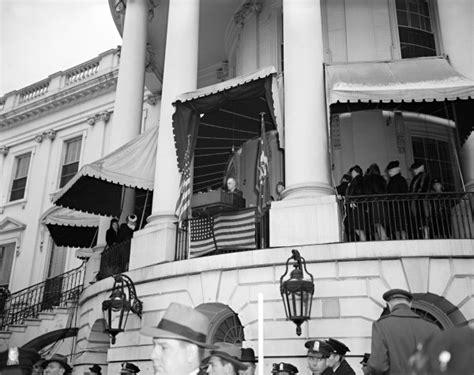 Roosevelt S White House by The Interior Of The White House During Renovations In 1950