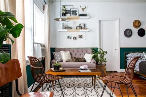 clever space saving ideas  decorating  studio