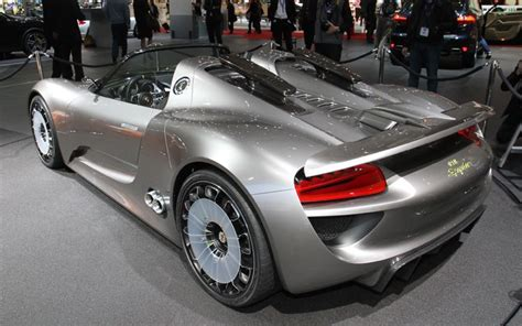 porsche 918 concept 2011 porsche 918 spyder concept photos features