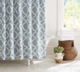 kendra trellis shower curtain pottery barn