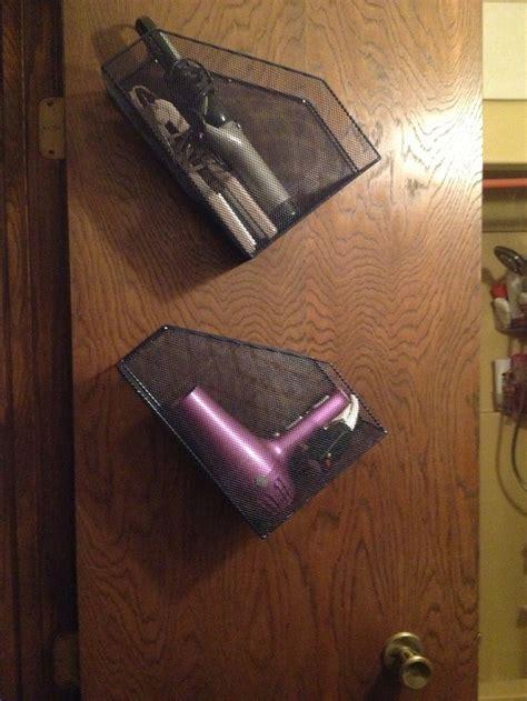 wire door organizer 17 best ideas about hair dryer storage on pinterest hair