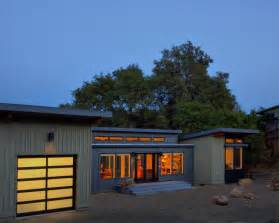 Also showcased is the contemporary frosted glass amp aluminum garage