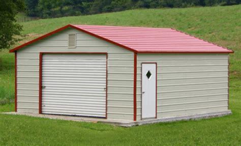 One Car Garage Cost by Steel Buildings Metal Garages Building Kits Prefab Prices
