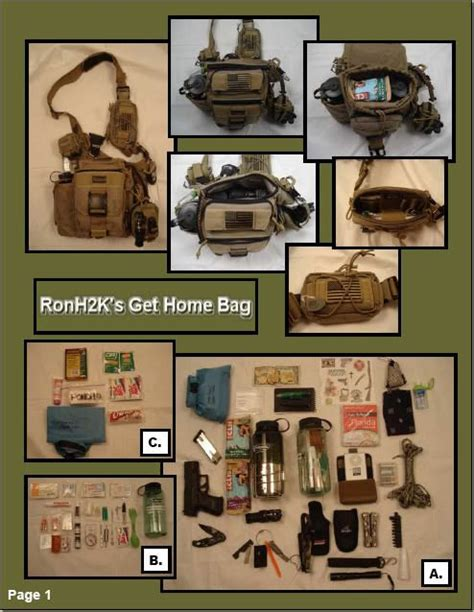 best 25 get home bag ideas on bug out bag