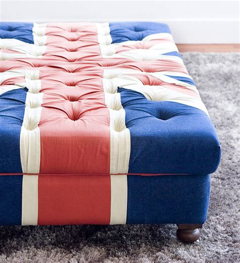 british flag ottoman british flag ottoman contemporary living room
