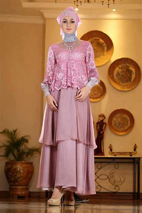 koleksi baju pesta muslim terbaru  cantik mempesona