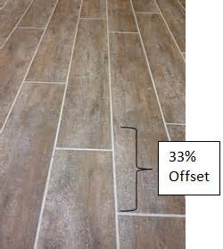 Tile planks and the look of wood