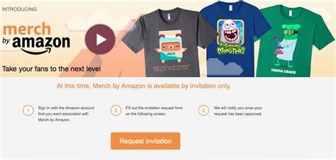 amazon merch make a killing selling t shirts through merch by amazon