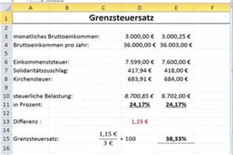 Rechnung Privatperson Absetzen Grenzsteuersatz Berechnen So Geht S