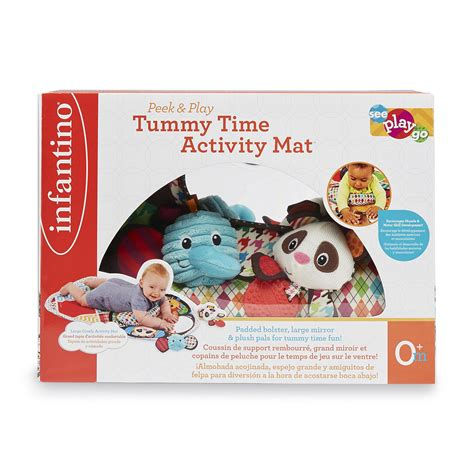 Infantino Tummy Time Mat by Infantino Infant S Tummy Time Activity Mat