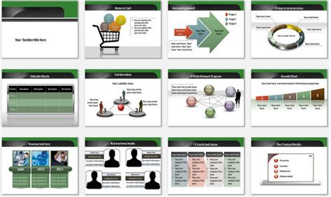 themes for marketing presentations powerpoint email marketing template