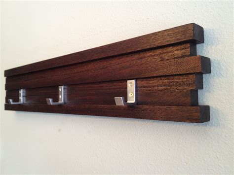 modern coat hooks coat rack 3 hook modern key hat minimalist wall hanging by