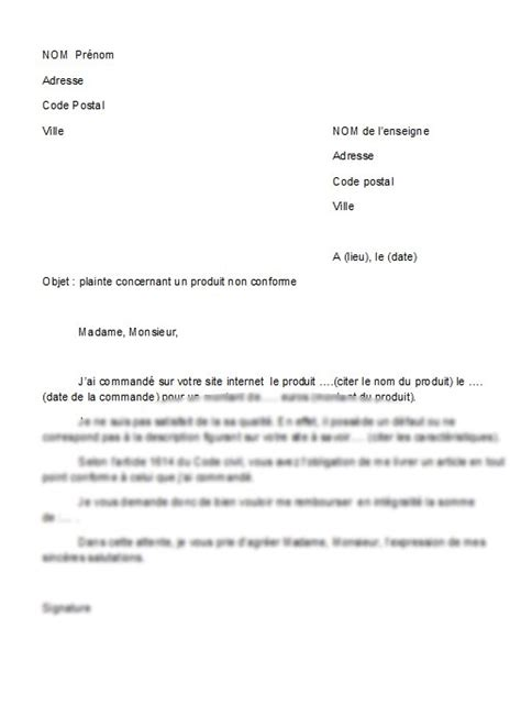 Exemple Lettre De Démission Kfc Application Letter February 2016