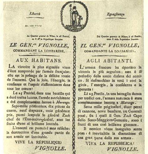 codice napoleonico testo napoleone e marengo storia universale