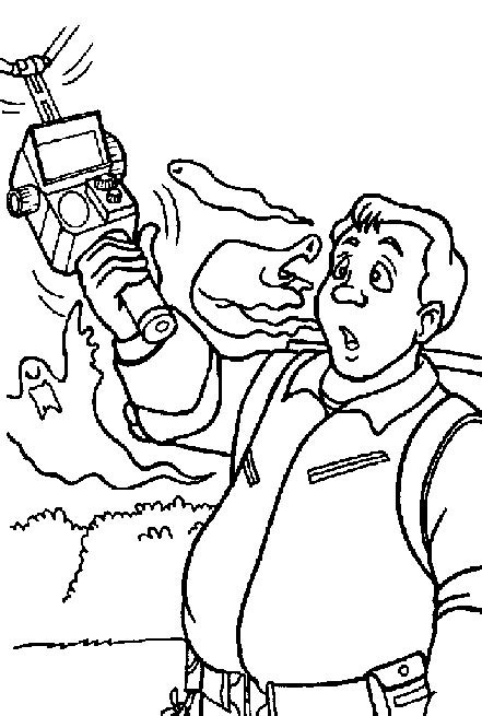 Ghostbusters Coloring Pages Coloringpagesabc Com Ghostbusters Coloring Pages