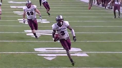 montana grizzlies football i aa fcs college football montana beat idaho state on a botched field goal attempt