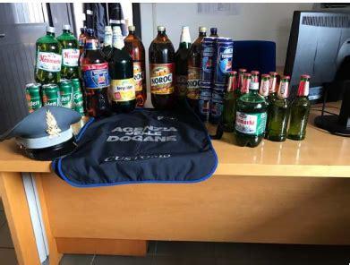pam ufficio ufficio dogane sequestrati circa 5 400 litri di birra