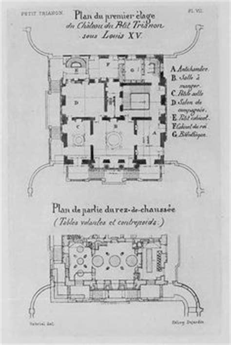 petit trianon floor plan 1000 images about tour versailles france on pinterest