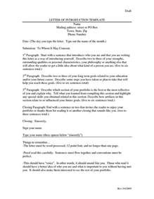 Letter Of Introduction Template For Employment Best 25 Teacher Introduction Letter Ideas On Pinterest