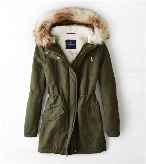 Jaket Parka Army Eagle aeo cinched surplus parka hoping to by this for next year