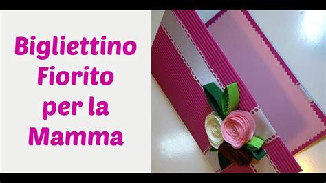 biglietto fiorito rose  carta flower card festa della