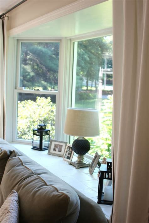 Window Sill Inspiration Cool Bay Window Decorating Ideas Shelterness X 187 Connectorcountry