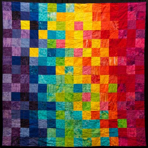 Pixel Quilt Pattern by Big Bright Pixels This Thing