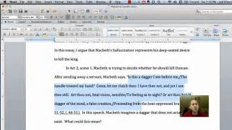 Inserting Citations In An Essay by How To Make A Block Quote