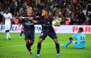 germain 6 2 toulouse neymar grabs headlines