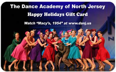 Academy Gift Card Check Balance - send online gift cards for the dance academy of north jersey powered by giftfly com