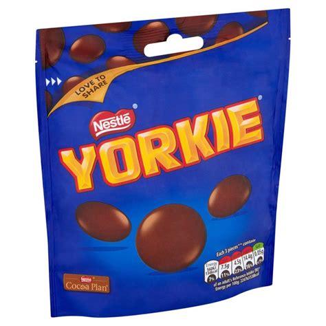 yorkie nestle nestle yorkie size buttons 120g from ocado