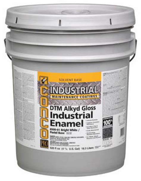 conco industrial gloss interior exterior dtm alkyd enamel 5 gal at menards 174