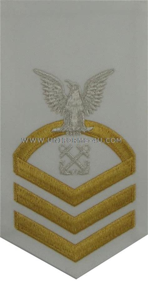 boatswain uscg uscg e7 boatswains mate bm white rating badge