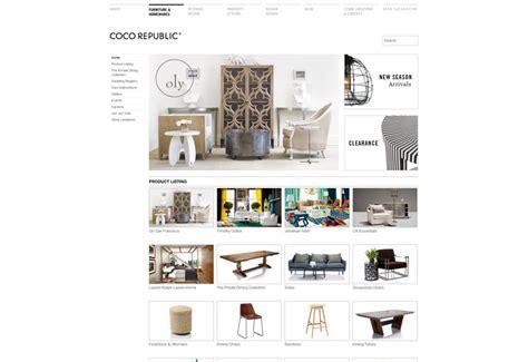 design inspiration online shop furniture shop website design jimmyweb sydney