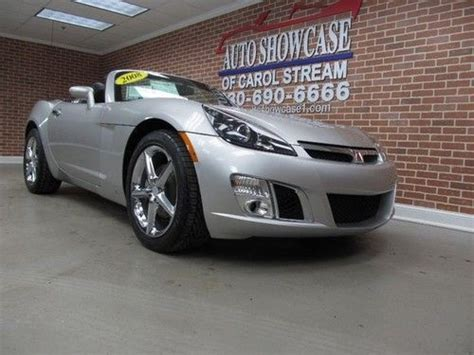 how cars run 2008 saturn sky auto manual buy used 2008 saturn red line turbo manual convertible chrome wheels in carol stream illinois