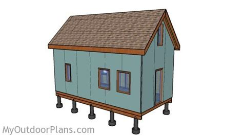 12x24 Tiny House Plans Free Myoutdoorplans Free 12x24 Tiny House Plans