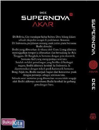 Buku Akar bukukita supernova 2 akar toko buku