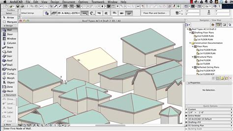 Shed House Floor Plans archicad tutorial roof modeling in archicad 15 and above