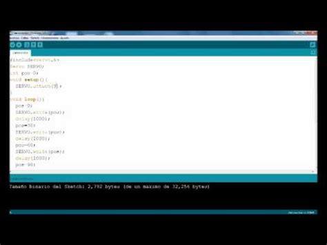 tutorial avançado wireshark tutorial avanzado arduino servomotor youtube